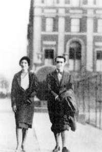 Antonieta Rivas Mercado y Federico García Lorca, en 1929